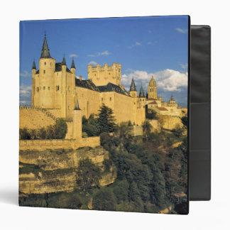 Europe, Spain, Segovia. The imposing Alcazar, Binder