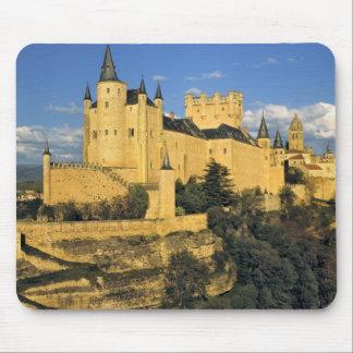 Europe, Spain, Segovia. The imposing Alcazar, Mouse Pad