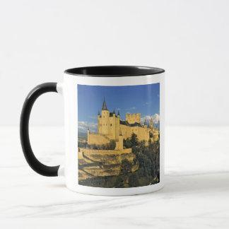 Europe, Spain, Segovia. The imposing Alcazar, Mug