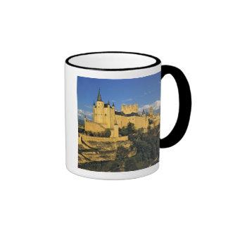 Europe, Spain, Segovia. The imposing Alcazar, Ringer Coffee Mug