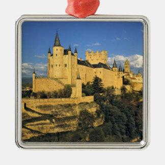 Europe, Spain, Segovia. The imposing Alcazar, Ornament