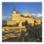 Europe, Spain, Segovia. The imposing Alcazar, Photo Print