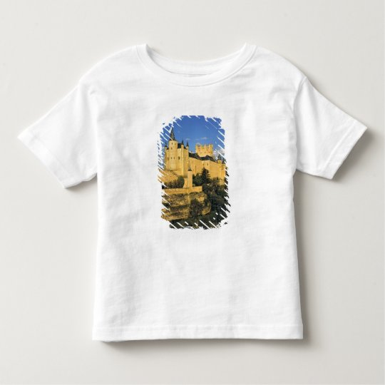 Europe, Spain, Segovia. The imposing Alcazar, Toddler T-shirt