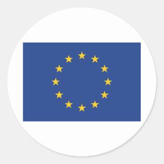 Europe Classic Round Sticker