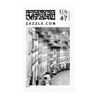 Europe, Switzerland, Bern. Old City buildings Postage