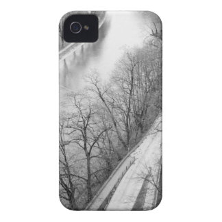 Europe, Switzerland, Bern. Overview of the Aare iPhone 4 Case-Mate Cases
