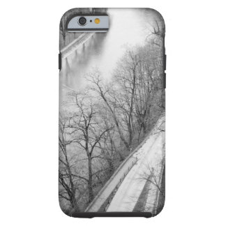 Europe, Switzerland, Bern. Overview of the Aare Tough iPhone 6 Case