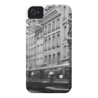 Europe, Switzerland, Bern. Tram, Marktgasse Case-Mate iPhone 4 Cases