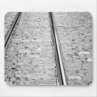 Europe, Switzerland, Bern. Tram tracks, Mouse Pad