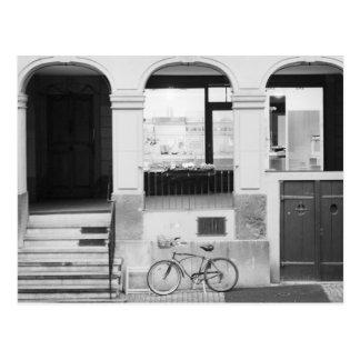 Europe, Switzerland, Berne. Kramgasse Building Postcard