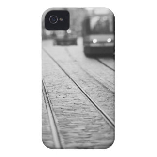 Europe, Switzerland, Berne. Tram tracks, iPhone 4 Cases