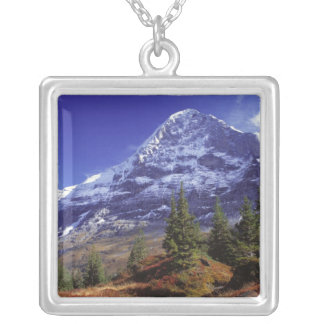 Europe, Switzerland, Eiger. Fall colors abound Pendants