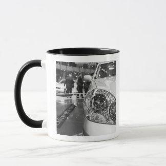 Europe, Switzerland, Geneva. Geneva Motor Show; 2 Mug