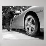 Europe, Switzerland, Geneva. Geneva Motor Show; 5 Print