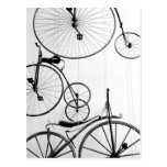 Europe, Switzerland, Lucerne. Bicycle display, Post Cards