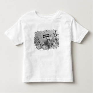 Europe, Switzerland, Lucerne. Outdoor cafe table Toddler T-shirt