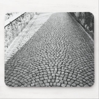 Europe, Switzerland, Zurich. Cobbled street, Mouse Pad