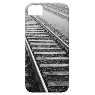 Europe, Switzerland, Zurich. Train tracks iPhone 5 Cases