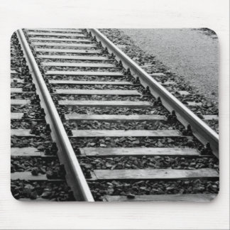 Europe, Switzerland, Zurich. Train tracks Mouse Pad