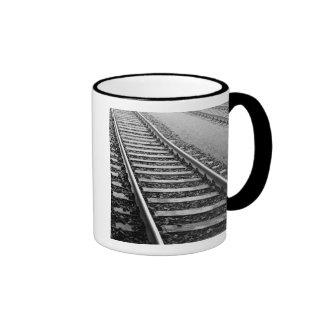 Europe Switzerland Zurich Train tracks Mug