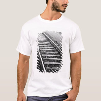 Europe, Switzerland, Zurich. Train tracks T-Shirt