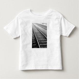 Europe, Switzerland, Zurich. Train tracks Toddler T-shirt