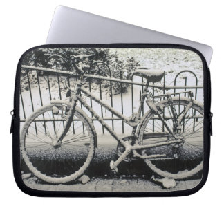 Europe, The Netherlands, Amsterdam. A Laptop Computer Sleeve