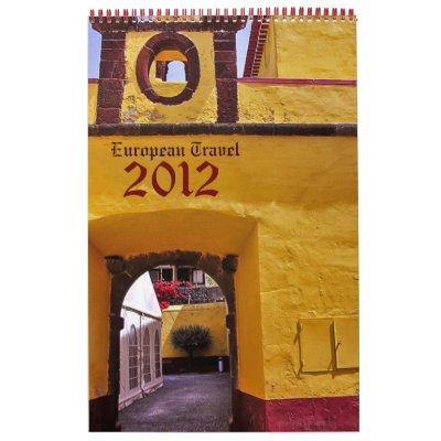 Europe Travel Photography 2012 Calendar calendar