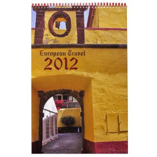 Europe Travel Photography 2012 Calendar