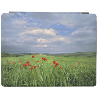 Europe, Tuscany, Poggiolo. Red poppies sway iPad Smart Cover
