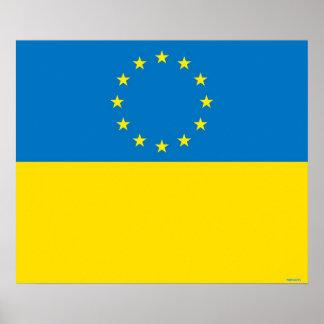 EUROPE UKRAINE POSTERS