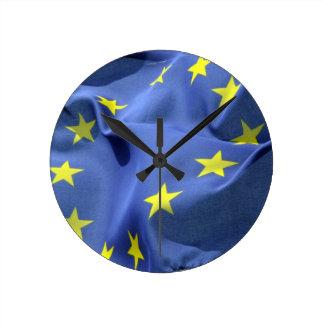 europe union round wallclocks