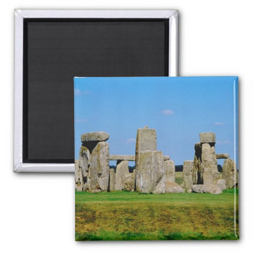 Europe, United Kingdom, England, Wiltshire, 2 Inch Square Magnet