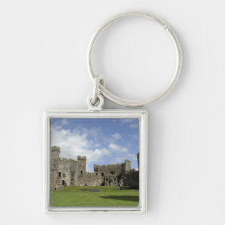 Europe, Wales, Caernarfon. Caernarfon Castle, Keychain