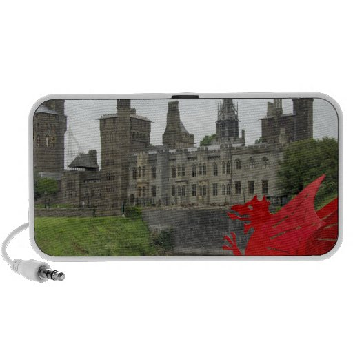 Europe, Wales, Cardiff. Cardiff Castle. Welsh 2 Portable Speaker