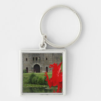 Europe Wales Cardiff Cardiff Castle Welsh Key Chain