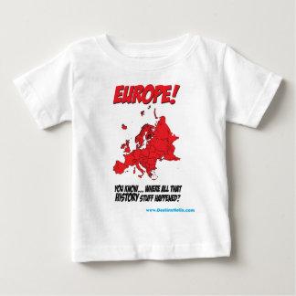 Europe! (Where All That History Stuff Happened) Shirt
