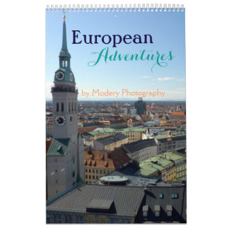 European Adventures 2018 (Single Page) Calendar