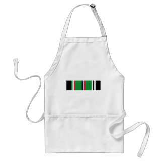 European-African-Middle Eastern Campaign Ribbon Adult Apron