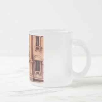 European architectural detail coffee mug