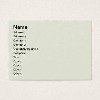 European architecture business card
