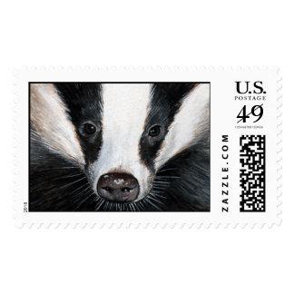 European Badger Postage