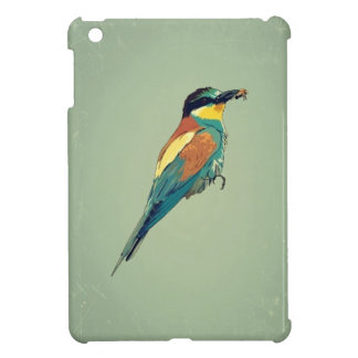 European Bee-Eater Vintage Retro Style Mint Green Cover For The iPad Mini