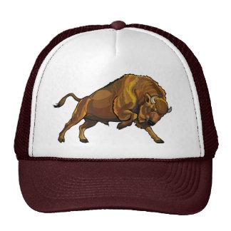 european bison mesh hats