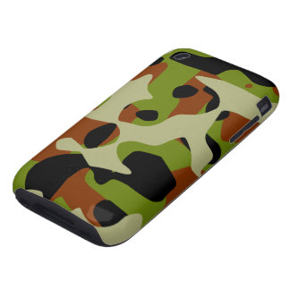 European  Camouflage iPhone 3 Tough Cover