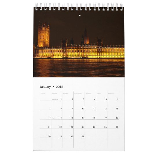 European Capitals - 2012 Calendar