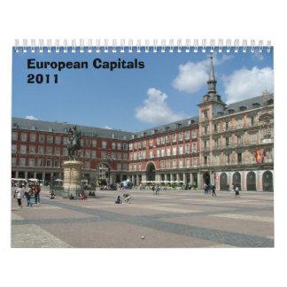 European Capitals Calendar