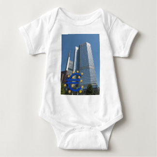 European Central Bank in Frankfurt am Main Baby Bodysuit