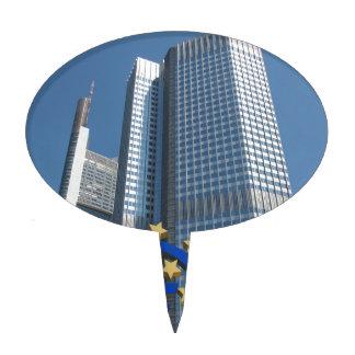 European Central Bank in Frankfurt am Main Cake Topper
