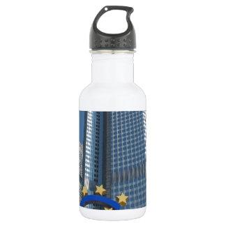 European Central Bank in Frankfurt am Main Stainless Steel Water Bottle